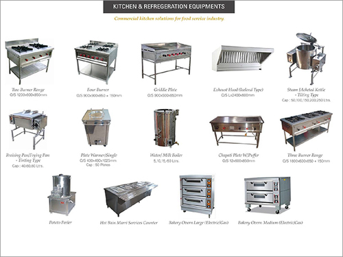 Kitchen & Refrigeration Equipments