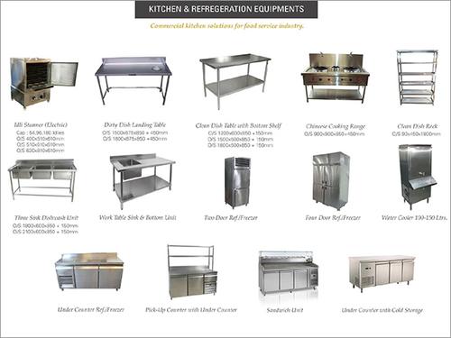 Kitchen & Refrigeration Equipments