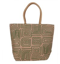 Natural Green Spiral Multipurpose Bag
