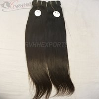 Unprocessed 100% Human Cuticle Aligned Straight Wholesale Virgin Indian Hair