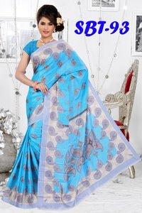 Printed Soft Light  Silk Sarees