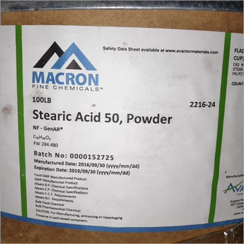 50 Stearic Acid Powder