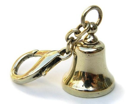 Bronze Bell keychain