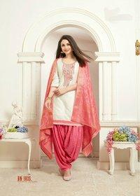Designer Readymade Patiyala Dress