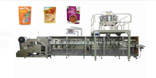 Spice Powder Zipper Bag Packaging Machine