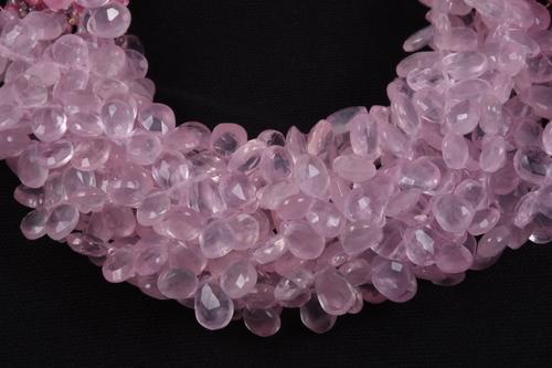 Rose Quartz Pears Beads