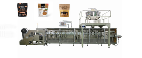 Peanut Butter Zipper Pouch Packing Machine