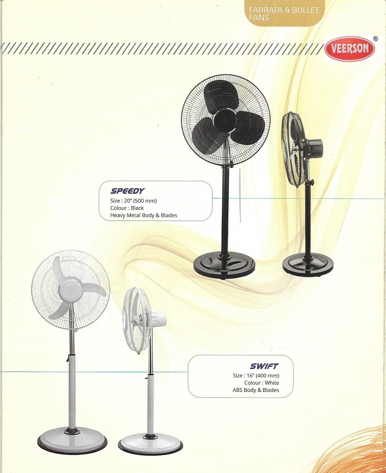 Speedy Farata Electric Fan