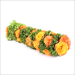 Rose Embedded Paneer Leaf Garland
