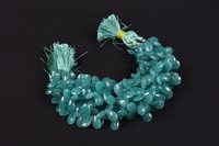 Natural Amazonite Faceted Pears Beads