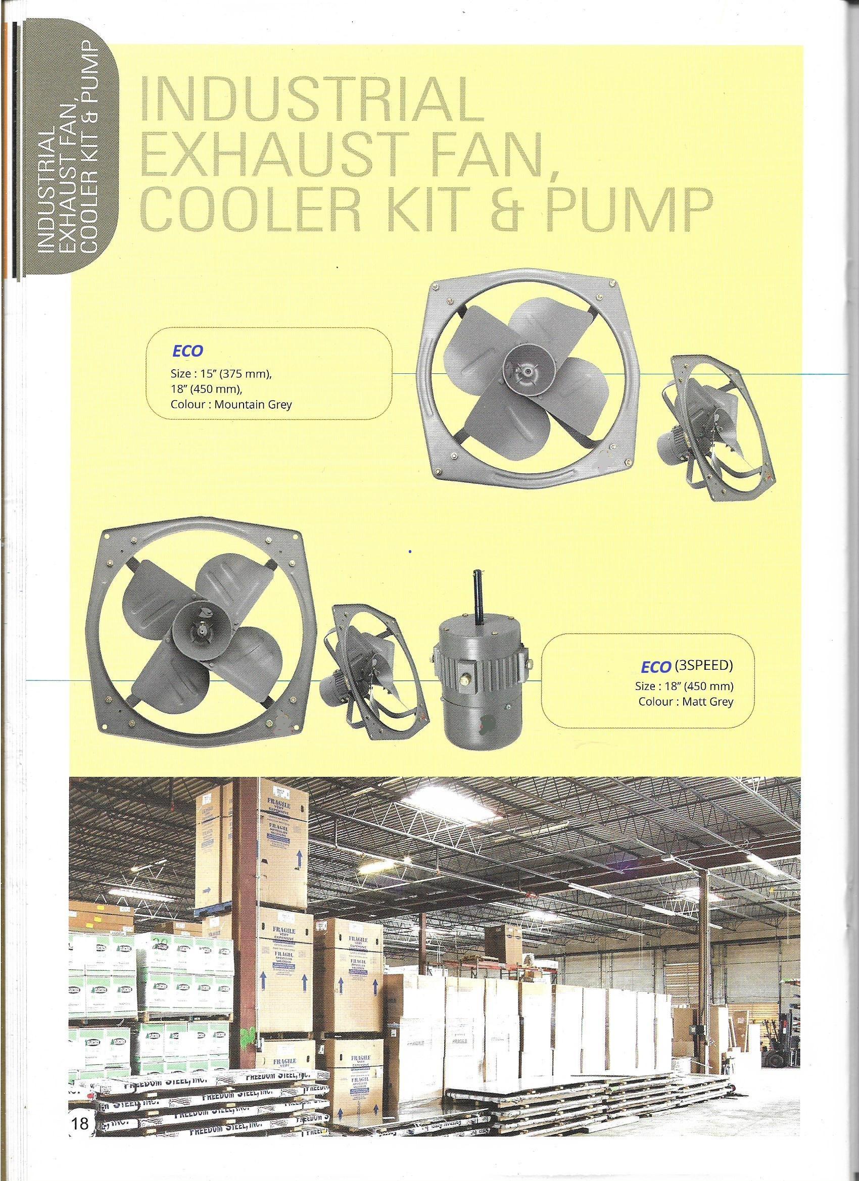 ECO Small Exhaust Fan Motor