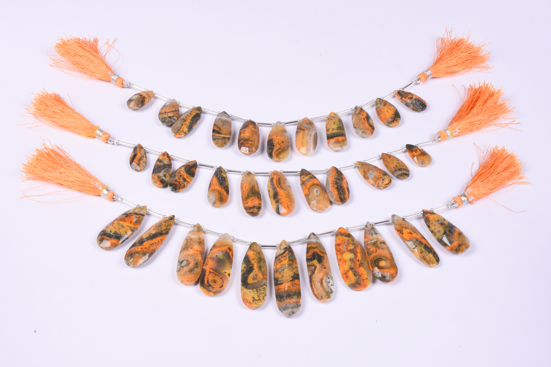 Bumble Jasper Pears Beads