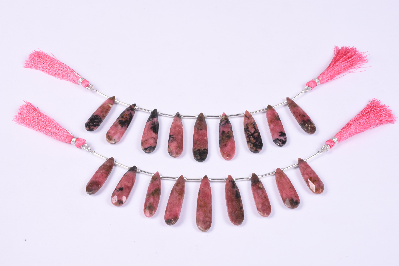 Natural Rhodochrosite Beads