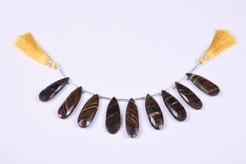 Natural Iron Tiger Beads