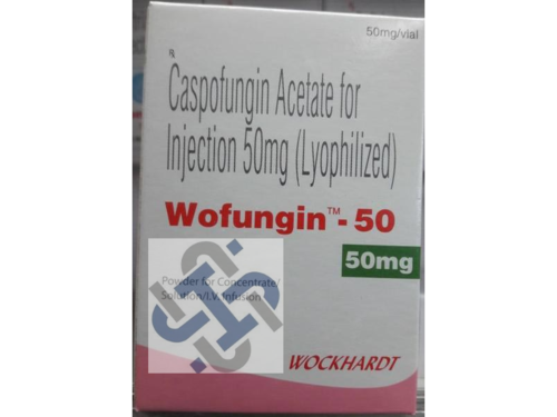 Wofungin Caspofungin 50mg Injection