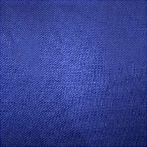Blue Polyester Fabric