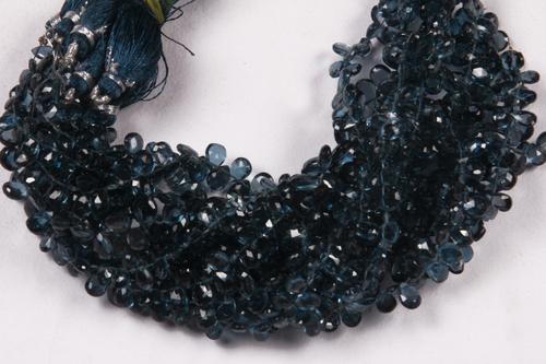 London Blue Topaz Beads
