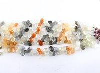 Multi Moonstone Pears Beads