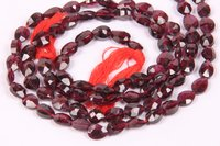 Garnet Pears Beads