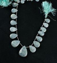 Milky Aqua Beads