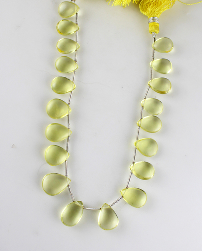 Lemon Topaz Pears Beads
