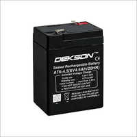Dekson 6V 4.5Ah Battery