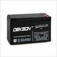 12V 7.6Ah SMF VRLA Battery