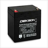 12v 4.5ah Smf Vrla Battery