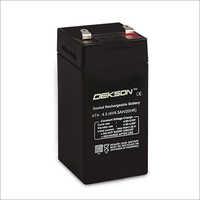 4v 4.5ah Smf Vrla Battery