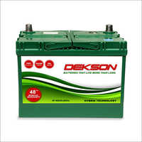 12v 60Ah Car Battery
