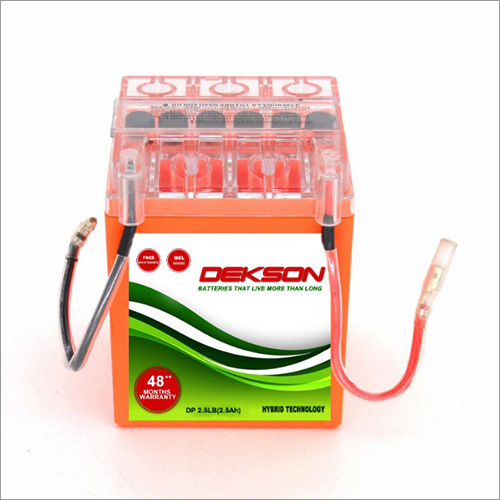 12v 2.5Ah Bike Battery