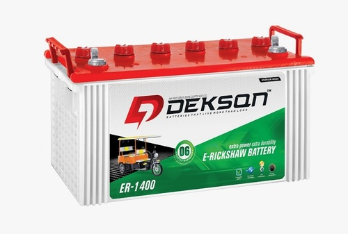 Dekson E Rickshaw Battery