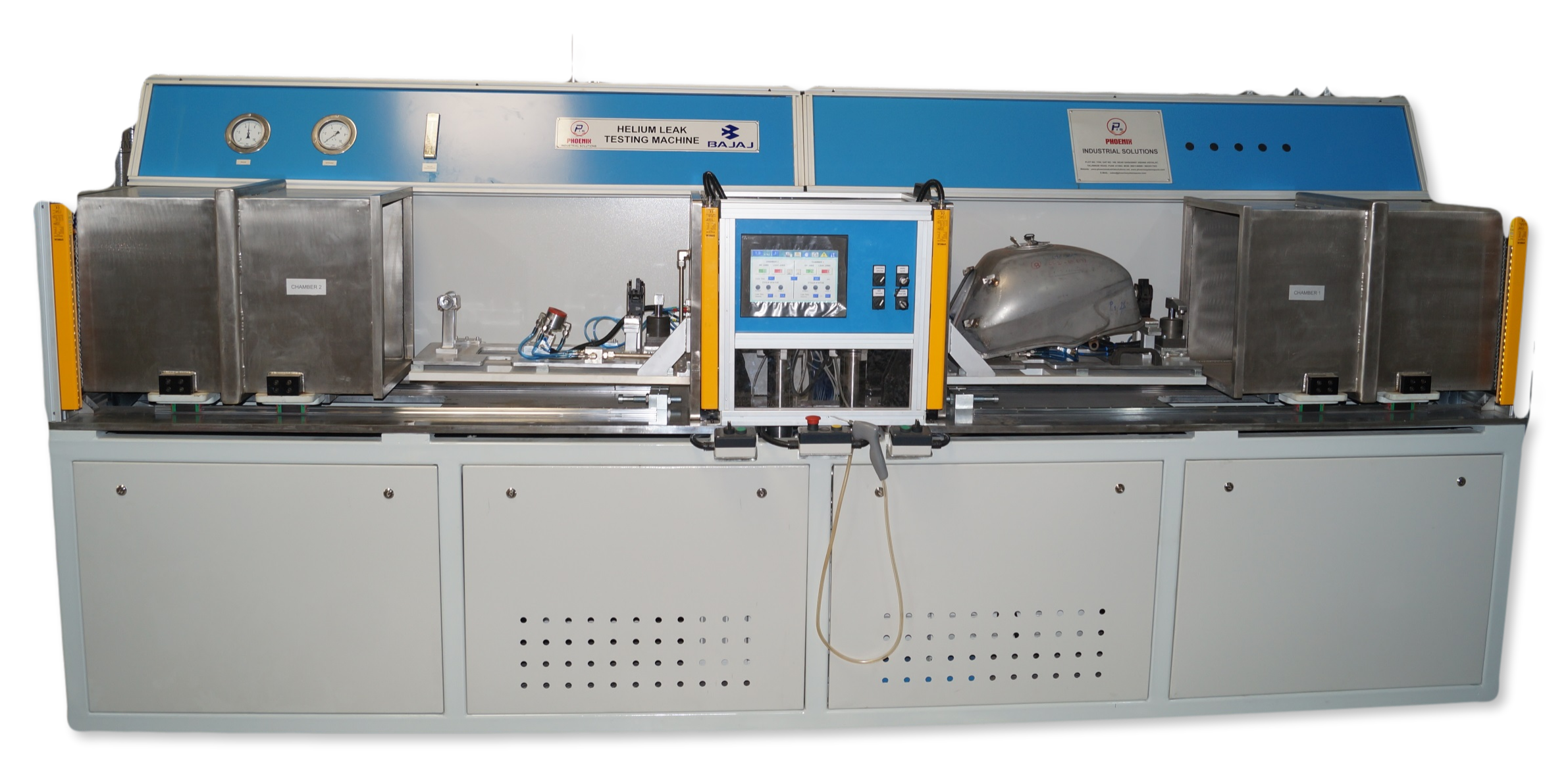 Helium Leak Testing Machine Automotive Components