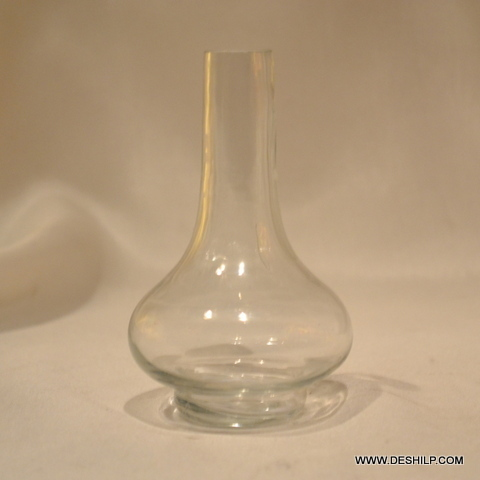 Surahi Shape Glass Flower Vase