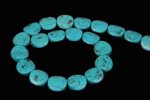 Turquoise Fancy Shape Beads
