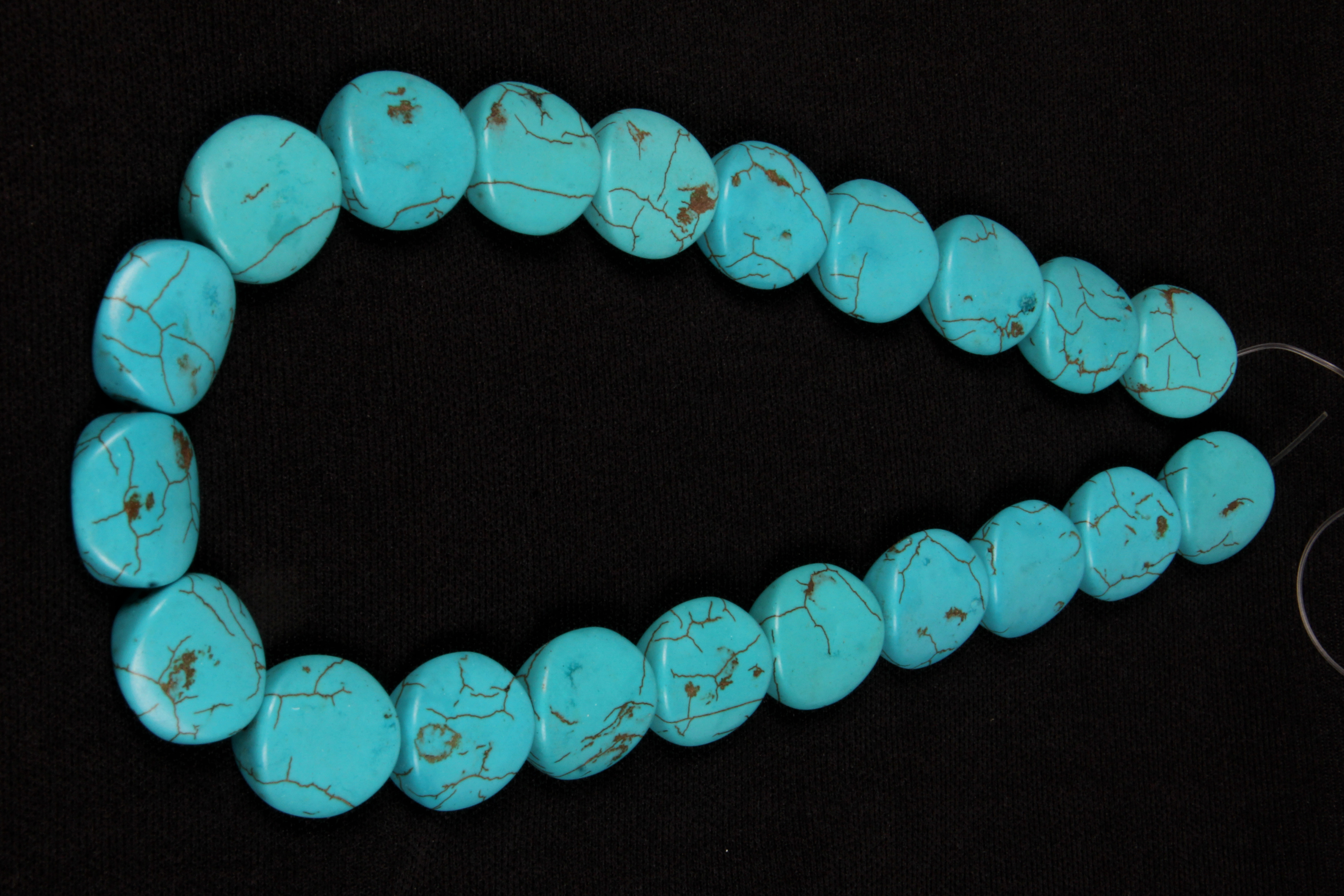 Turquoise Fancy Shape Beads