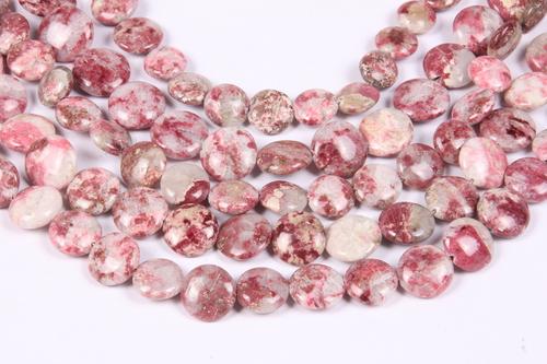 Thulite Gemstone Beads