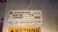 WOODWARD HMI 8406-021 B