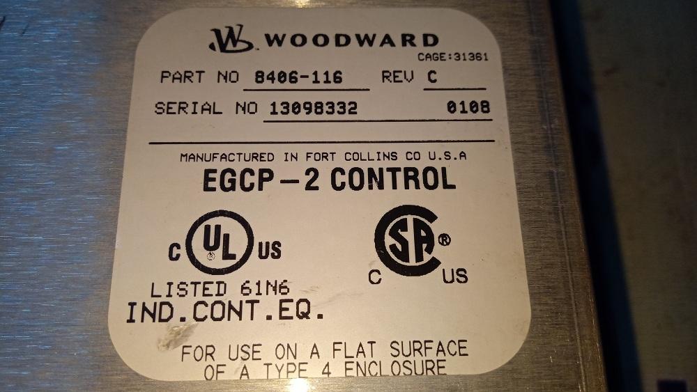 WOODWARD HMI 8406-116 C
