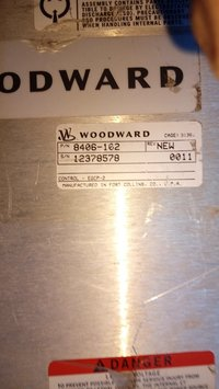 WOODWARD HMI 8406-102 NEW