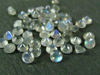 3.5mm Natural Labradorite Faceted Round Gemstone
