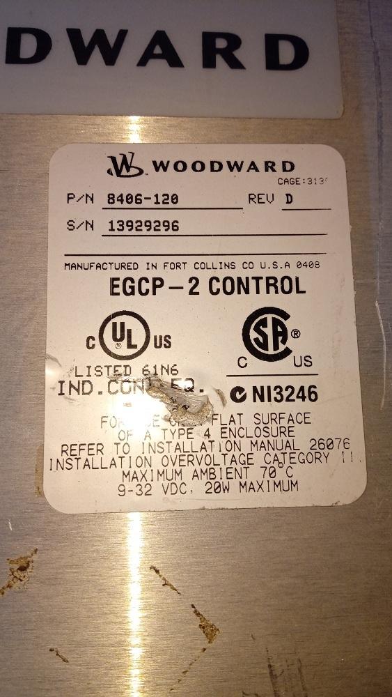 WOODWARD HMI 8406-120 D