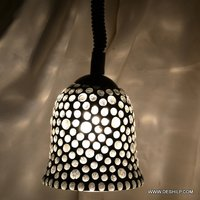 Black and White Mosaic Wall Hanging