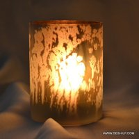 Glass Candle Holder For Home