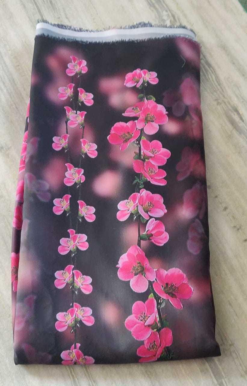Sofiya Crepe Digital Printed Fabric