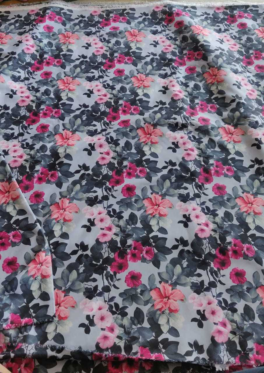 Sofiya Crepe Digital Printed Fabric