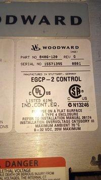 WOODWARD HMI 8406-120 G