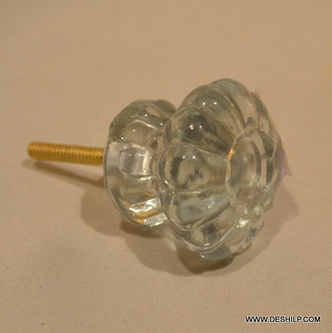 Home & Office Purpose Glass Door Knobs