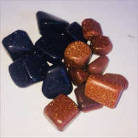 Blue and Brown Gold Stones