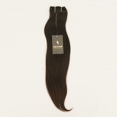 Raw Unprocessed Machine Weft Straight Hair india trader